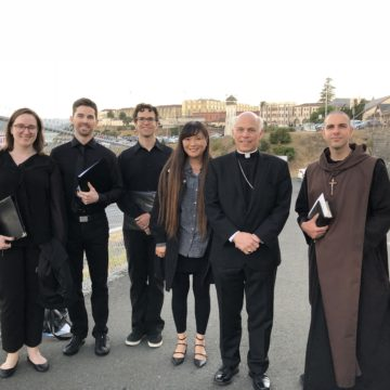 A Latin Mass Schola at San Quentin?