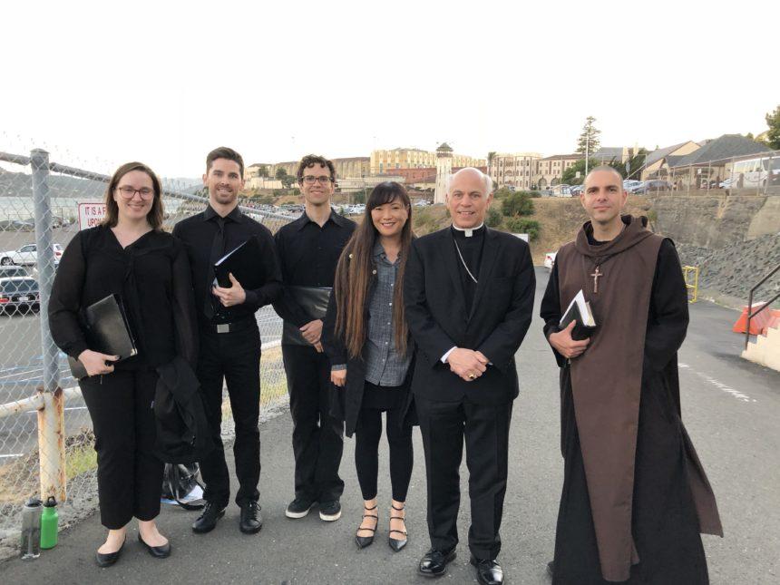 A Latin Mass Schola at San Quentin?